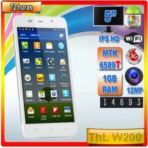 ThL W200  Un terminal con una relación calidad-precio, casi sin competencia