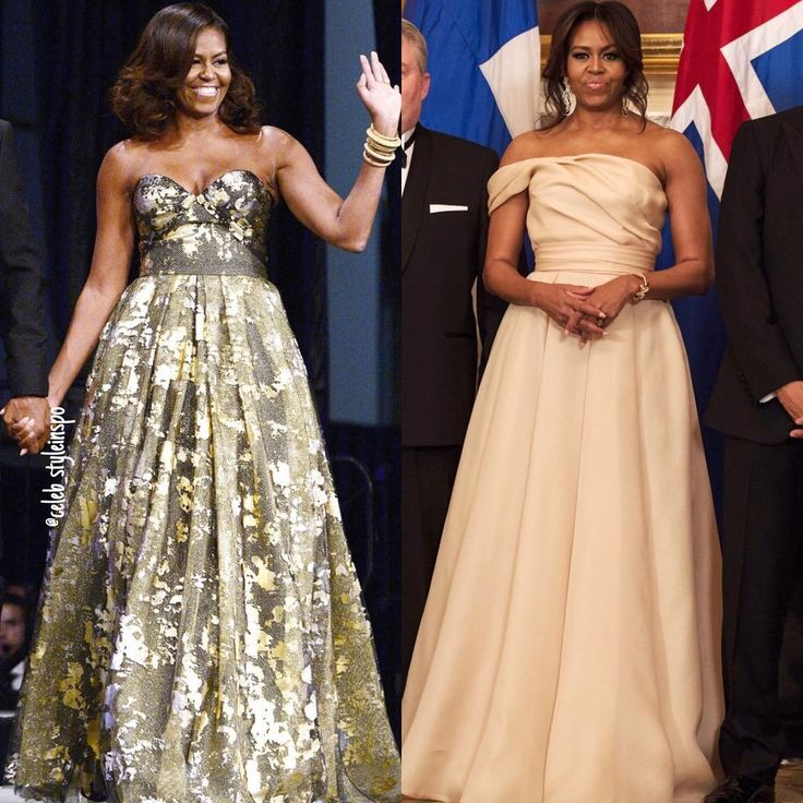Happy birthday to the amazing Michelle Obama  Which one of these dress/gown look…