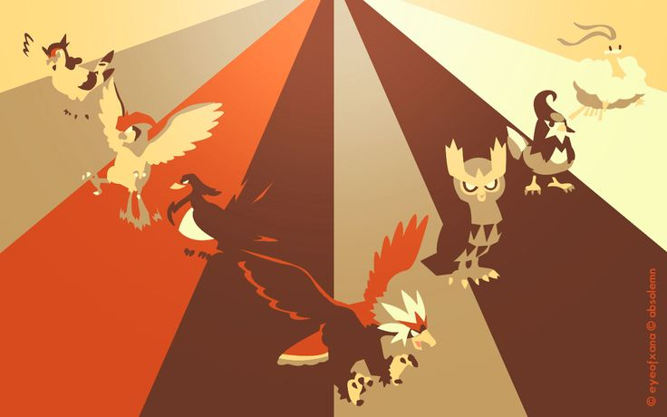 Pokemon Spectrum - Flying (Revamp) by EYEofXANA.deviantart.com on @deviantART