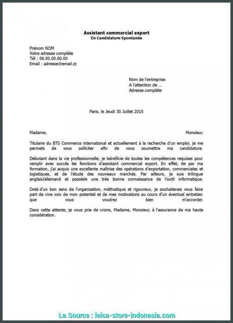 lettre de motivation bts assistant de gestion pme pmi en ...
