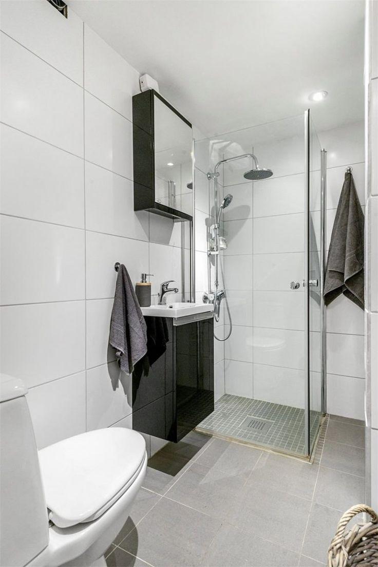Ideias Para Banheiro Preto E Branco : As melhores ideias de banheiro preto e branco no
