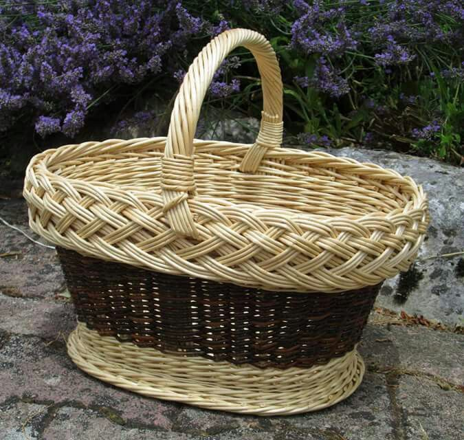 Woven Basket Pinterest : Best images about wiklina on french