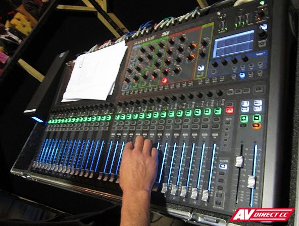 Soundcraft Si Performer- Powerful digital audio mixing technology
