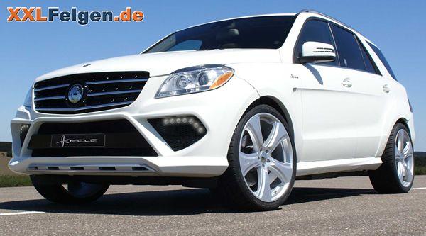 """Mercedes ML 350 W4 und Hofele Reverso II 22 Zoll Alufelgen; Mercedes M Hofele wheels 22"""""""
