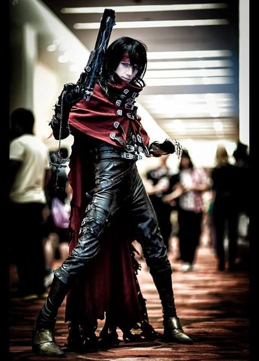 Epic Vincent Valentine cosplay - Final Fantasy VII.....Oh this is so happening next year!!! This is the best Vincent cosplay I've seen on Pinterest