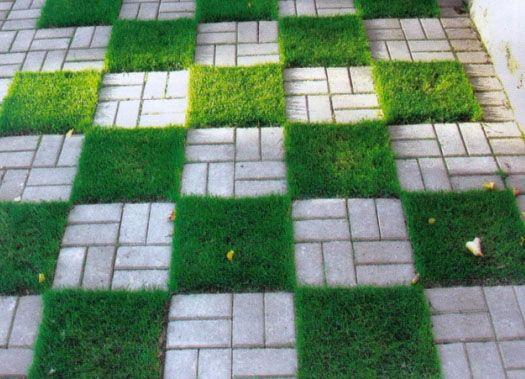 Дорожки из камня и кирпича в саду - фото вариантов, укладка своими руками