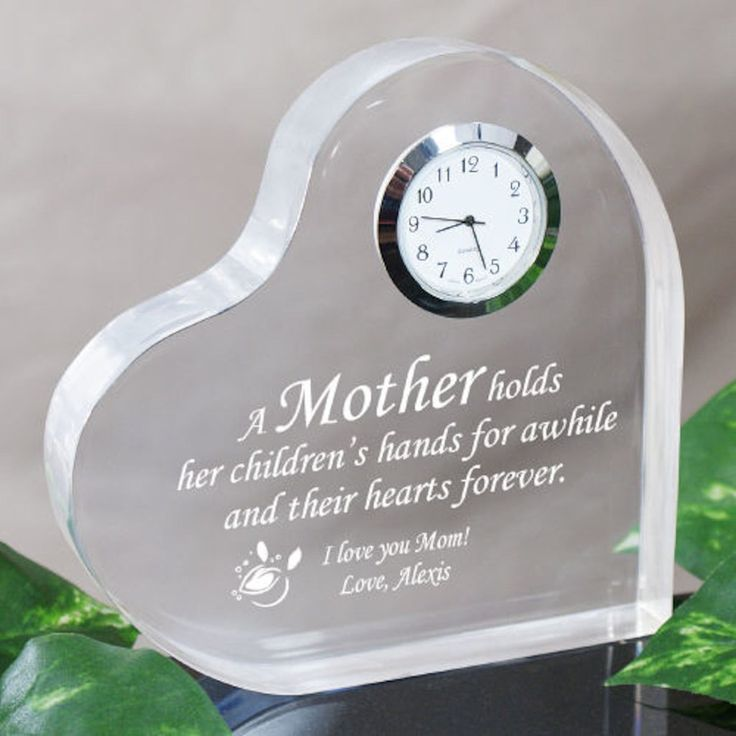 116 best for mom grandma images on pinterest personalised personalized mother keepsake clock gifts happen here 1 negle