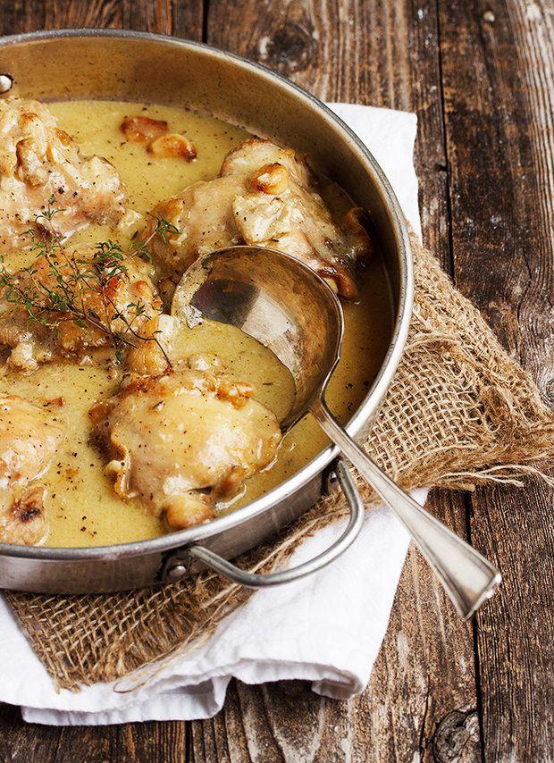 Kuřecí stehna v česnekové omáčce 2, Foto: All