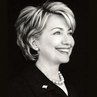 Hillary Clinton......She needs this hairstyle NOW.  This is cute.