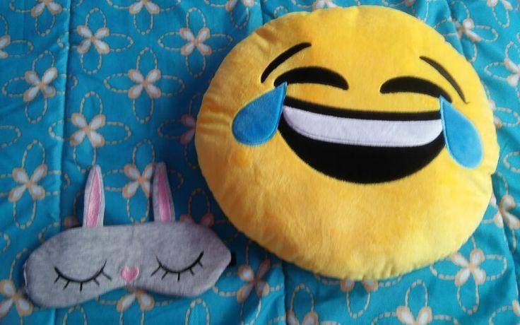Good night   Eye mask-h&m Emoji pillow-target