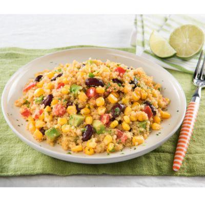 Quinoa aux haricots rouges et maïs à la mexicaine