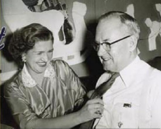 Lincoln and Meta Fitzgerald, who owned the Nevada Club aka the Tahoe Biltmore circa 1958