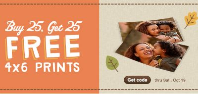 Walgreens Photo Coupon Codes - Buy 25 Prints Get 25 FREE, $10 Off $30 Gifts, 99¢ Brag Books, and More!