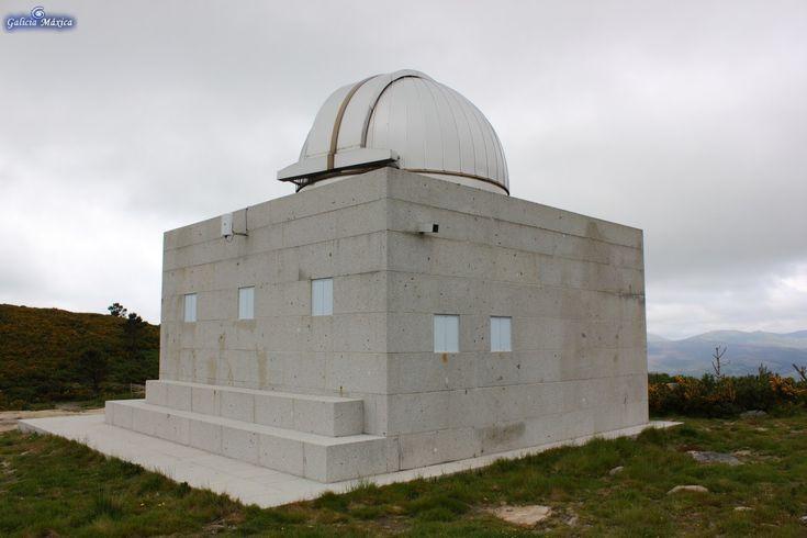Información sobre el telescopio del Monte Coirego, en Cotobade, Pontevedra