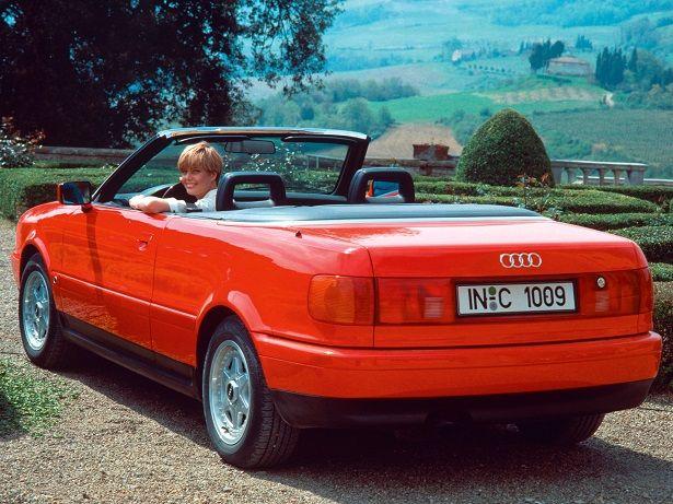 Audi Cabriolet (1991 – 2000).