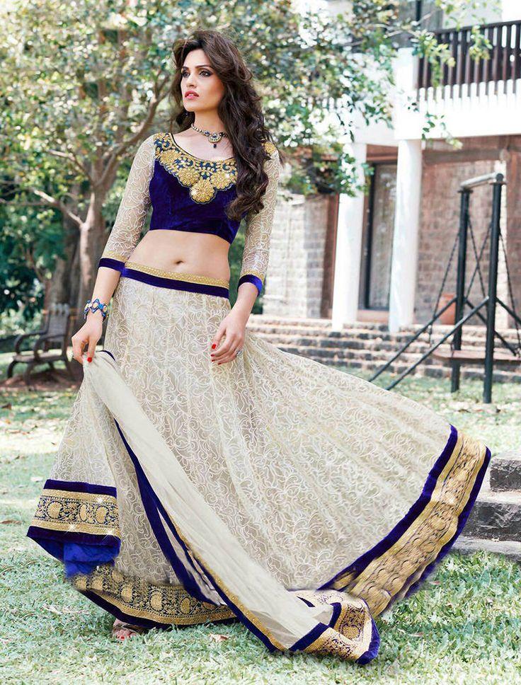 Designer Lehenga Choli Online at Mirraw.com