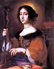 Claudia, Empress Consort of the Holy Roman Empire  by Carlo Dolci  1675