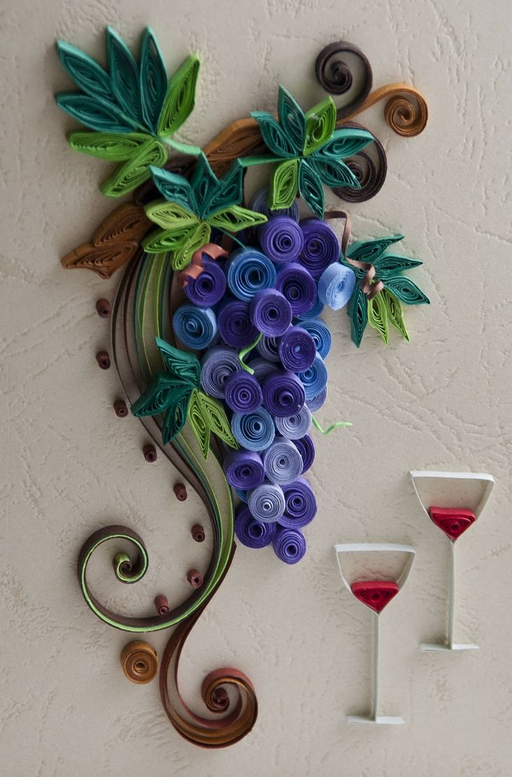 36 best quilling fruits images on pinterest quilling for Best quilling designs