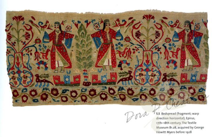 Gallery.ru / Фото #70 - Embroidery of the Greek Islands & Epirus Region - Dora2012