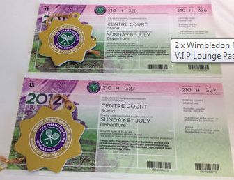 For me THE ultimate gift - Wimbledon Centre Court tickets