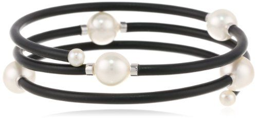 "Baggins White South Sea Pearl Memory Wire PVC Tubing Triple Wrapped Bangle Bracelet, 17"" Baggins http://www.amazon.com/dp/B00DVFZ3U8/ref=cm_sw_r_pi_dp_TMeRtb1PB3786VE9"