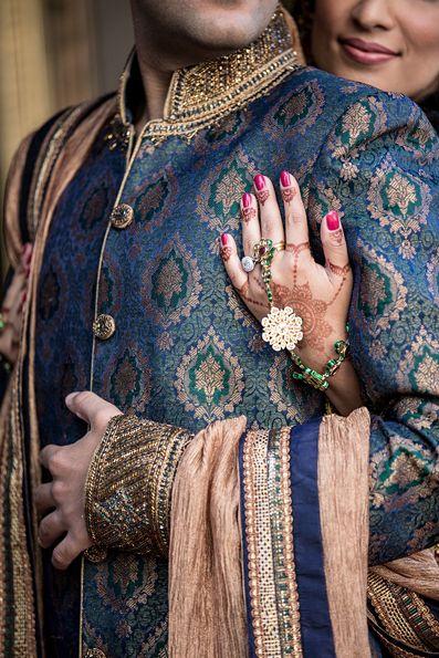 Blue #Royal #Sherwani