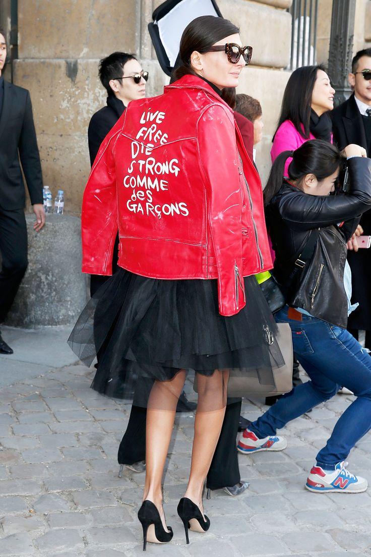 Giovanna Battaglia at Dior