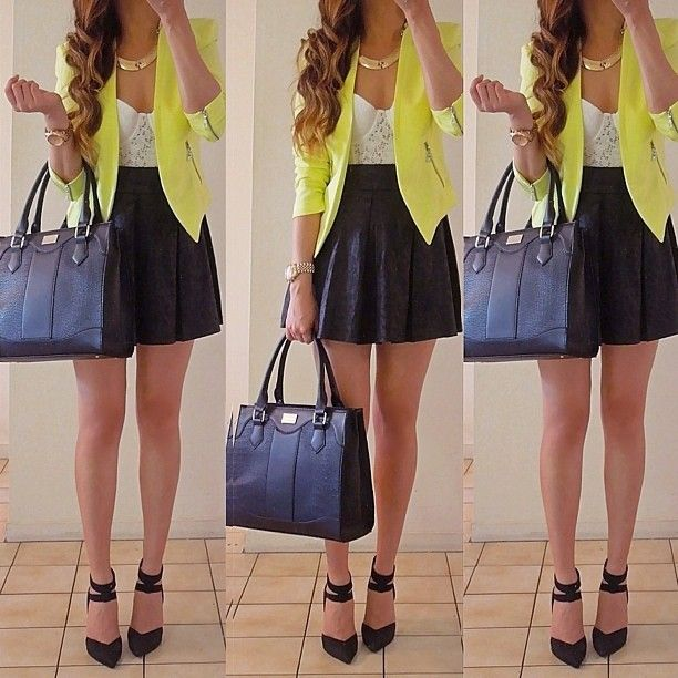 Fashion work outfit