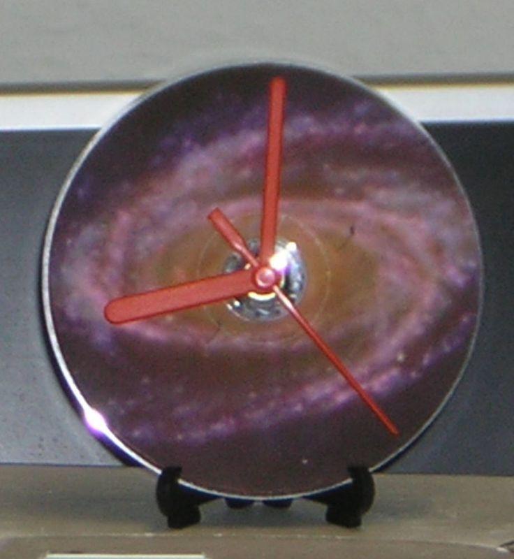 Galaxy CD Desk or Wall Clock