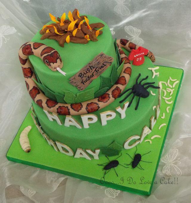 Paintball Birthday Cake