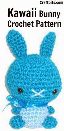 Amigurumi Kawaii Bunny - FREE Crochet Pattern / Tutorial