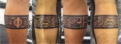 samoan chest and arm tattoos #Samoantattoos