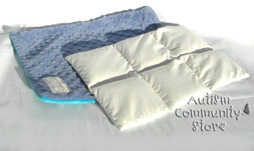 Creature Commforts - Weighted Lap Pad - 3 Lbs, 2015 Amazon Top Rated Sensory Motor Aids #HealthandBeauty