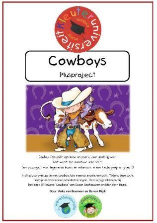 plusproject cowboys kleuters