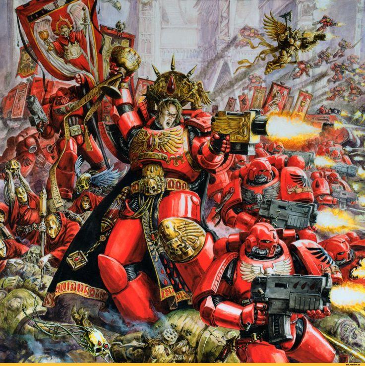 Warhammer 40k Blood Angels: 1000+ Images About Blood Angels On Pinterest