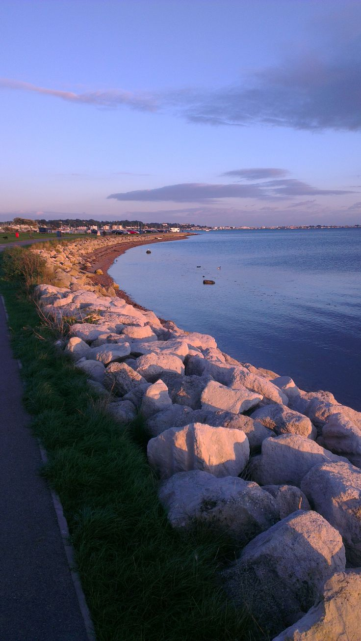 A walk by the water - Poole Harbour