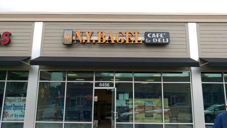 ny-bagel-store-virginia #nybagelcafe #hotfreshbagels
