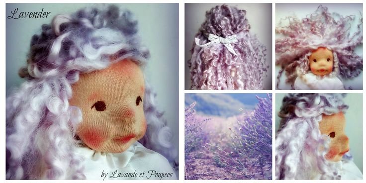 I am so happy to present you Lavender! She is still a work in progress doll, and she is quite a special this one, soon Lavande et Poupees will fulfill 1 year, 1 amazing year filled with special dolls, full of emotion and new friends! And soon my beautifull lavender will bloom, my favorited flower from the the whole world, the reason why Lavande et Poupees exists and for all this reasons I decided my little Lavender will be a #GIVEAWAY, as a thank you for all the suport you all gave me! So…