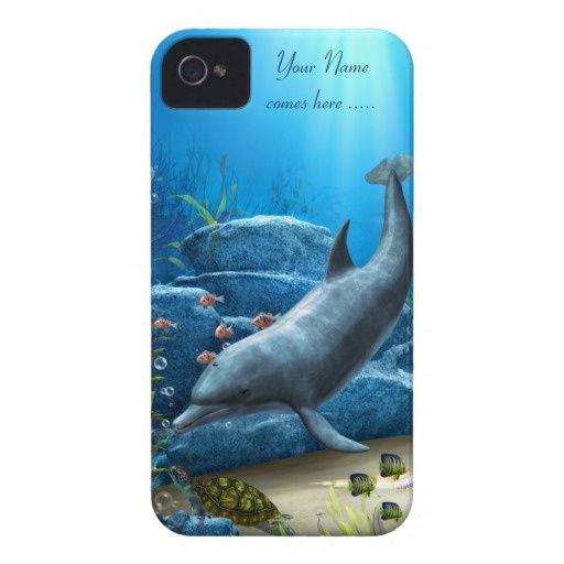 The world of the Dolphin iPhone 4/4S Case Barely Case-Mate iPhone 4 Cases