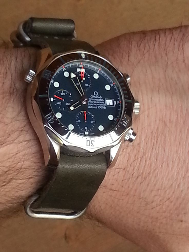 10 Best Images About Omega Seamaster 300m Leather Rubber