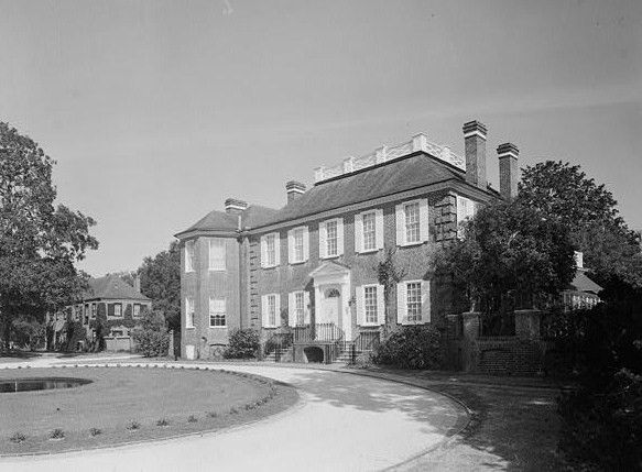 The Fenwick Hall, which is also known as Fenwick Castle, is a house built about 1730 on Johns Island, South Carolina across the Stono River from James Island & Charleston. It is a Georgian style, two story brick house on a raised basement. The original section was about 40ft  by 36ft. The hip roof was topped with a balustraded deck. The brickwork was Flemish bond. The south elevation has reconstructed nine over nine lights with reconstructed shutters.