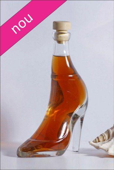 Sticla marturie, 200 ml Pantof