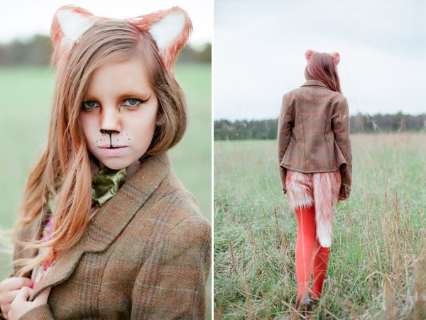 Good guide for make up, even though I'm going to be a lion, not a fox