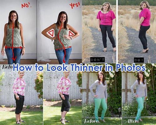 13 Poses That Will Make You Look Thinner in Photos. Poses that make you look…