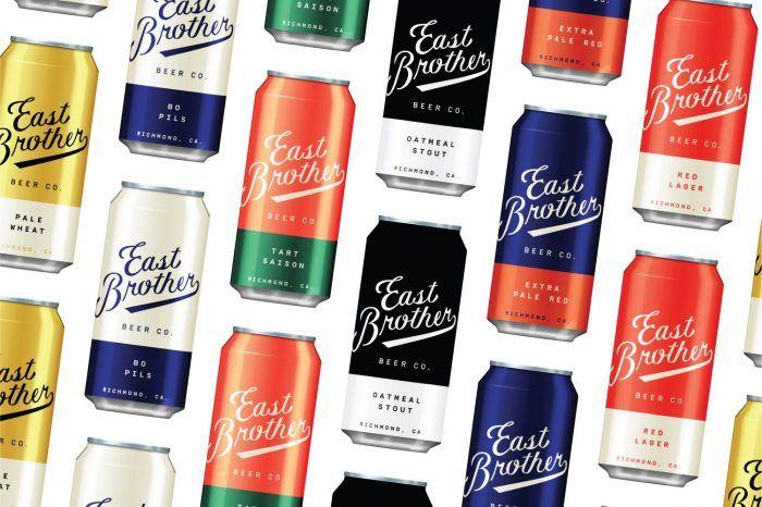 East Brother Beer Co. Branding