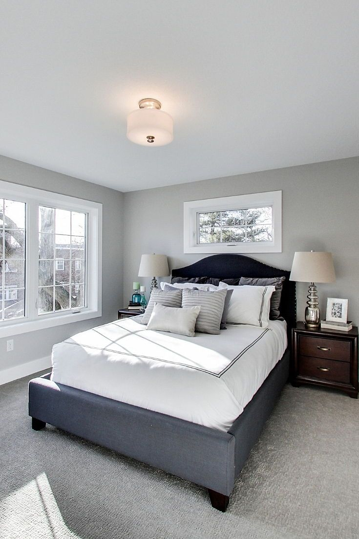 Stunning Pop The Top Home Addition Project Trubuild Construction Gray Master Bedroom Grey Carpet Bedroom Bedroom Carpet