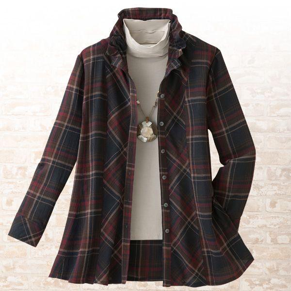 チェック切替ブラウスジャケット 【ミセスファッション】【ミセス・シニアファッション】【40代・50代・60代・70代 ファッション】02P12May14【楽天市場】