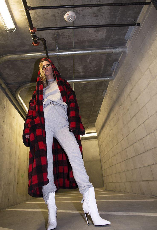 Native Fox - Jennifer Grace : Check - Photo 8: Acne, Balenciaga, Vetements