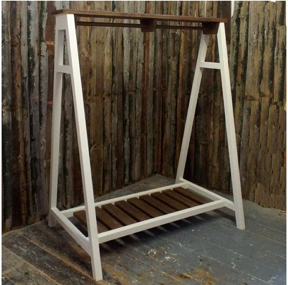 Handmade Farrow & Ball KIDS Clothing Rail by WoodsGoodsWiltshire
