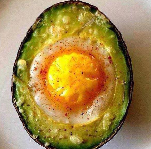 Breakfast Avocado - fancy-edibles.com